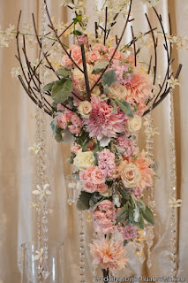 blush wedding flowers, wedding ceremony decor,  - Flora Nova Design, Seattle