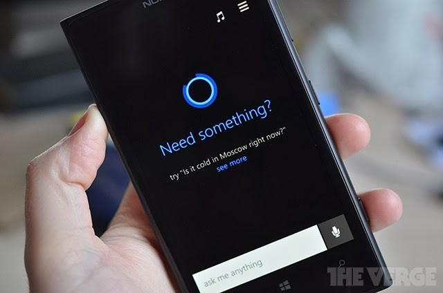 Inikah bocoran Cortana Windows Phone?