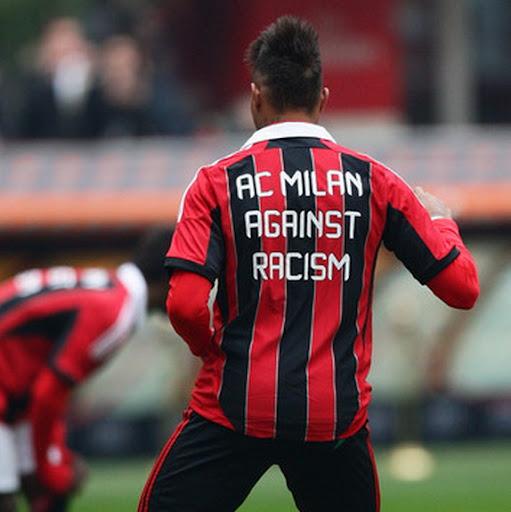 AC Milan's anti-racism shirt