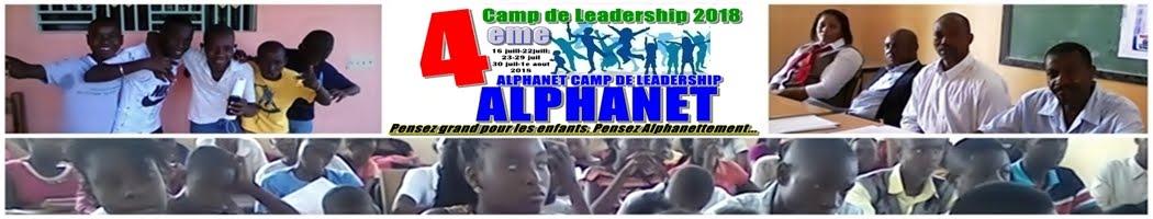 Alphanet Camp de Leadership Sciences et Technologies LCamp2018