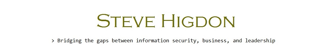 Steve Higdon Information Security
