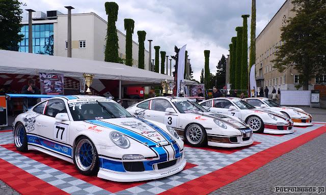 Porsche GT3 team na Auto Show Wrocław 2013