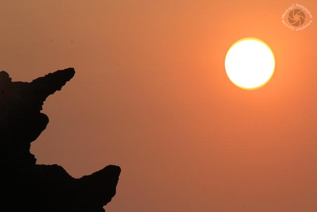 Ombak Putih & Sunset Bersama Batu Karang | Fotografer & Editing By : Klikmg 5 ( Shinta ) | Fotografer Cilik | Fotografer Indonesia