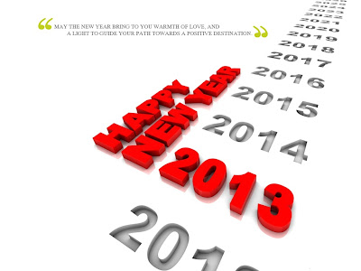 Happy New Year 2013 Wallpapers and Wishes Greeting Cards 073