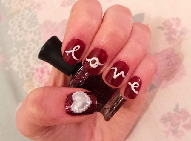 15 Sweet Valentines Day Nail Art Designs