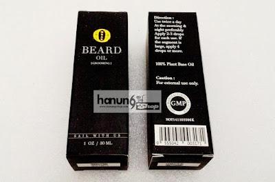 Ombak Beard Oil Untuk Rambut Brewok, Jenggot, Jamban dan Kumis
