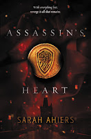 Assassin's Heart by Sarah Ahiers book cover and review