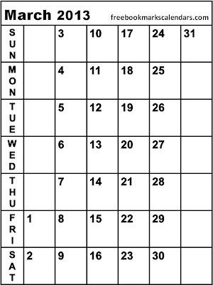 Monthly Calendars 2013 2014