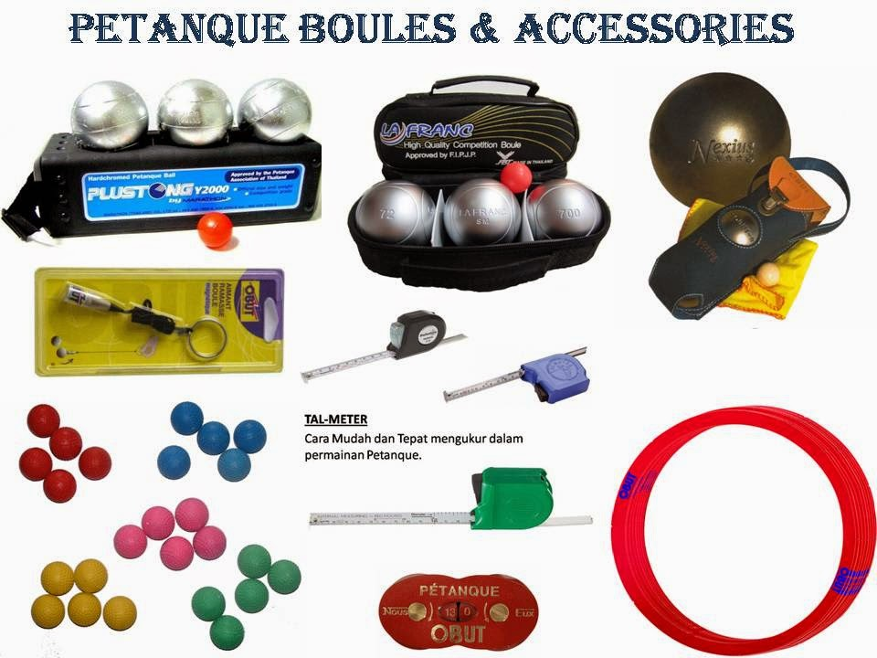 Boules & Accessories