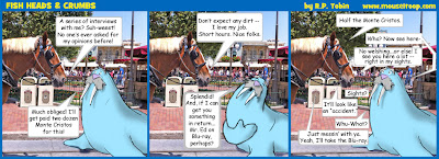 Fish Heads Crumbs 6 Horse Walrus Comic Strip Disneyland
