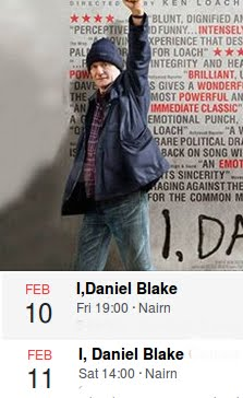 "Two chances to see ""I, Daniel Blake"""