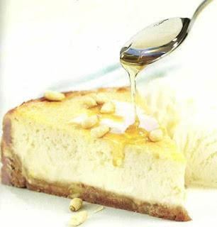 pie de ricotta y miel