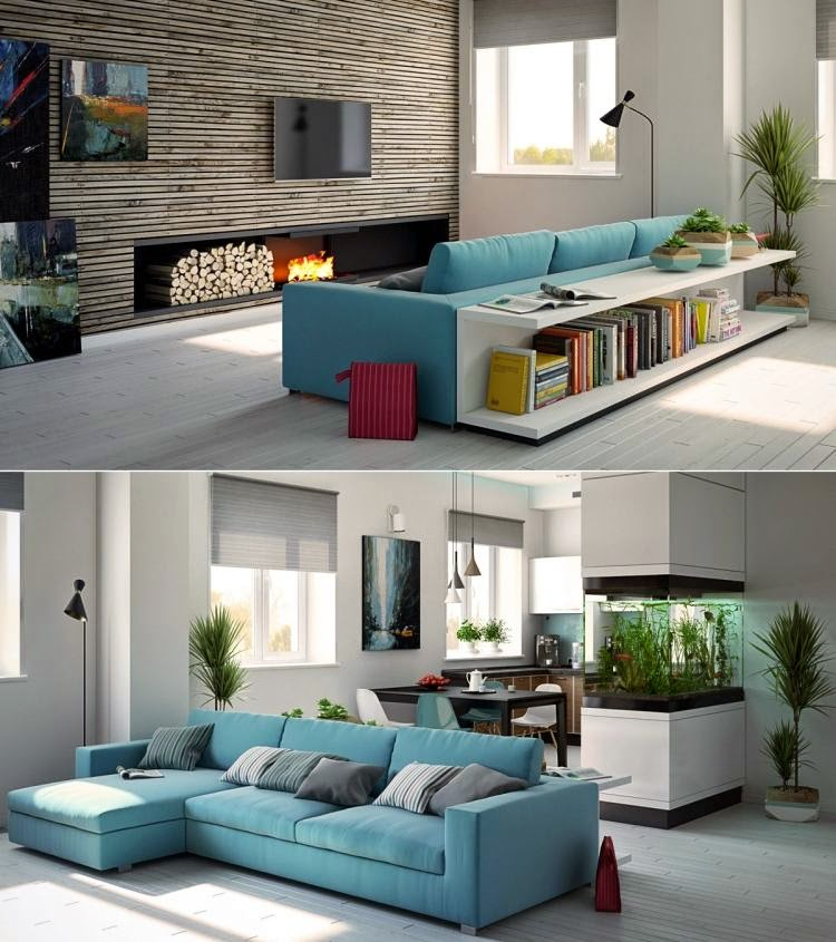 Interior Modern Interior Color Schemes 20 trendy interior color schemes of 2015 inspired from nature modern with turquoise vibrant plants