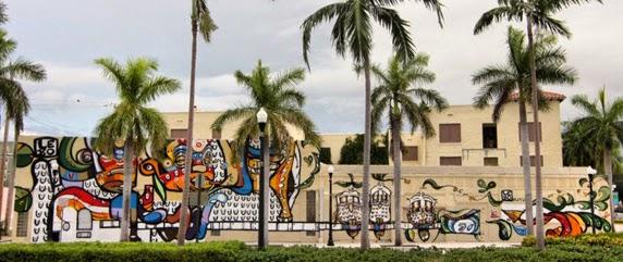 Apartamento miami espectacular proyecto de murales en for Downtown hollywood mural project