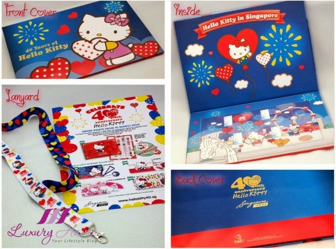 singpost hello kitty mystamp folder set review