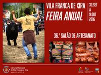 Vila Franca de Xira- Feira Anual 2016- 30 Setembro a 9 Outubro