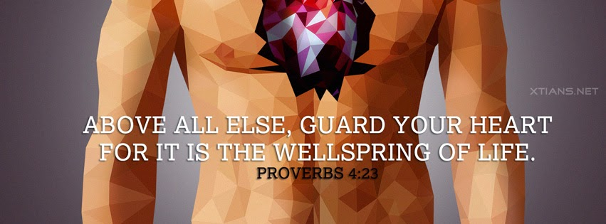 Facebook Cover - Guard your heart