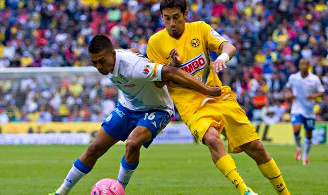 Puebla vs América fecha 3 Apertura 2015