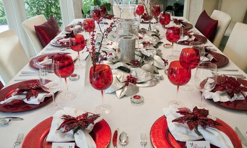 Blog moda infantil decoraci n de la mesa en navidad - Adornos para la mesa de navidad ...
