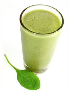 Carrot and Spinach Salad Smoothie