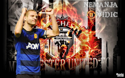 Wallpapers Nemanja Vidic Manchester United (MU) 2012-2013