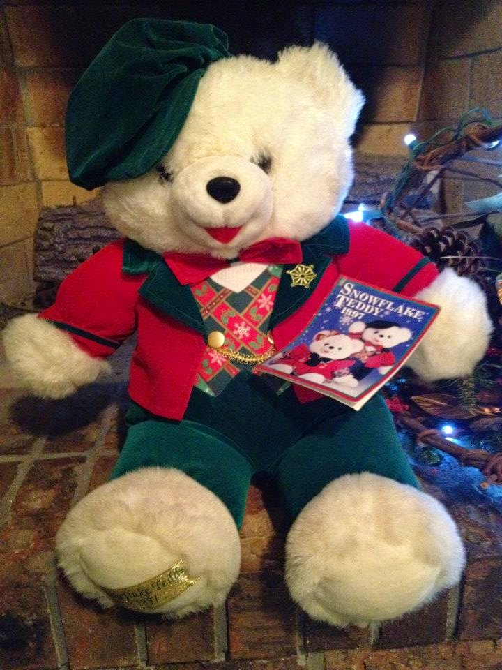 The Teddy Bear Shelter: CHRISTMAS HOLIDAY TEDDY BEARS #WALMART #KMART