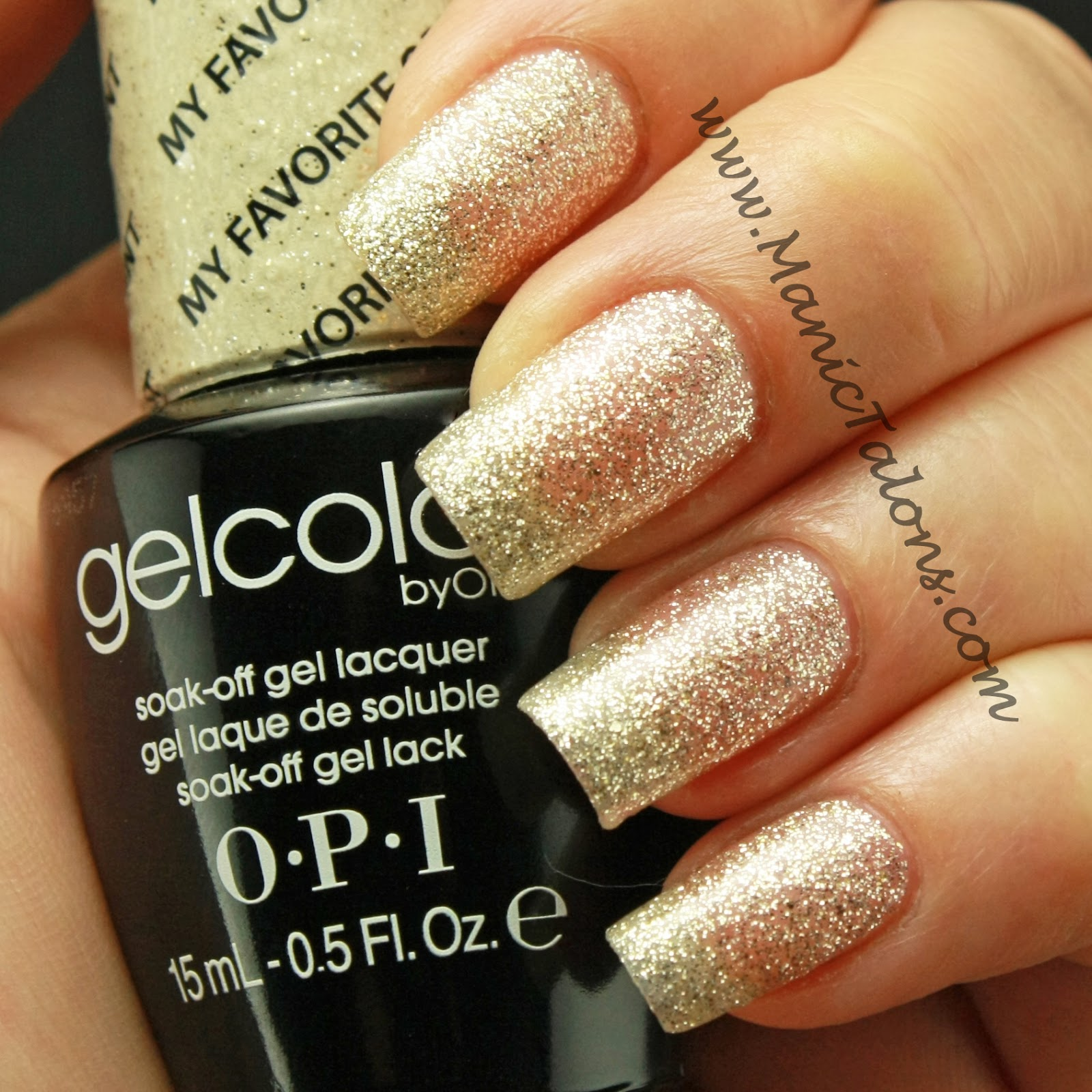 Manic Talons Nail Design: OPI GelColor: Random swatches