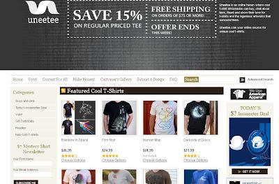 camisetas diseño web