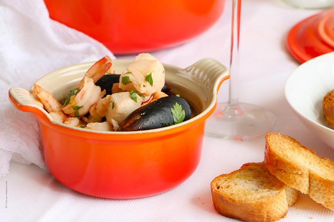 Bourride o Sopa de Pescado Provenzal