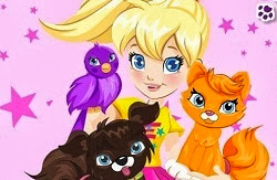 Polly Pocket Cuidado de mascotas