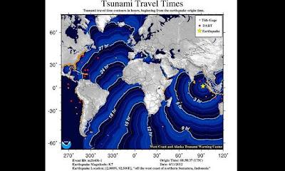 Alerta tsunami tras terremoto en Indonesia 11 de Abril de 2012