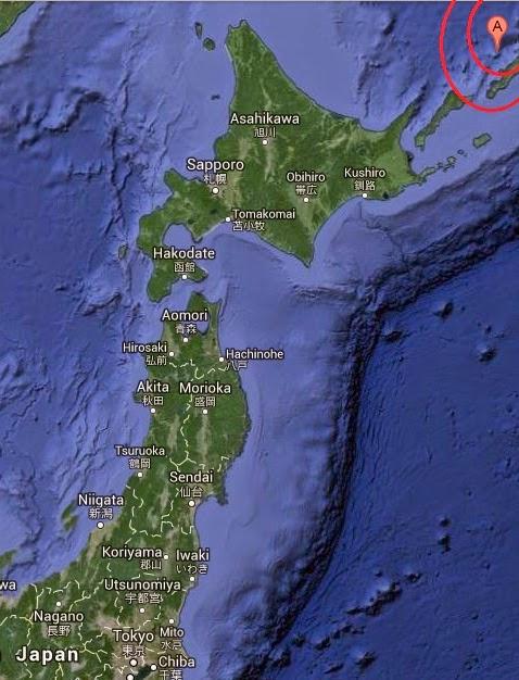 Magnituae 5.3 Earthquake of Kuril'sk, Russia 2014-09-16