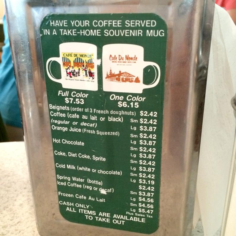 Coupon cafe du monde