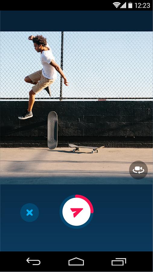 تحميل تطبيق سكايب Skype Qik للأندرويد