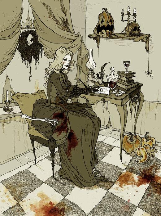 Halloween Queen por AbigailLarson