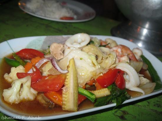 Seafood of Koh Samet Island