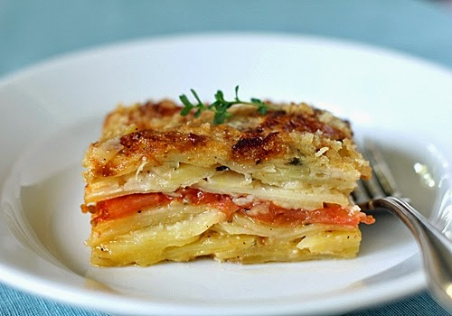 Potato Tomato Gratin Recipe