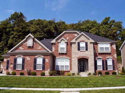 exterior paint colors for homes with red brick