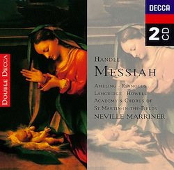 Mis CDs preferidos(9): Haendel, Messiah (Marriner)