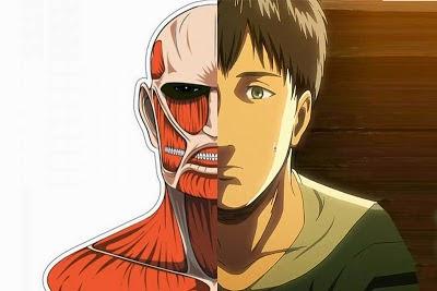orang yang dapat berubah menjadi titan