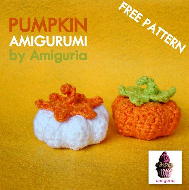 Halloween Pumpkin Amigurumi : amiguria amigurumi: Free Pattern Pumpkin