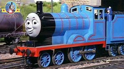 Sir Hatt Thomas the train and friends Edward the really useful engine Island of Sodor steam trains