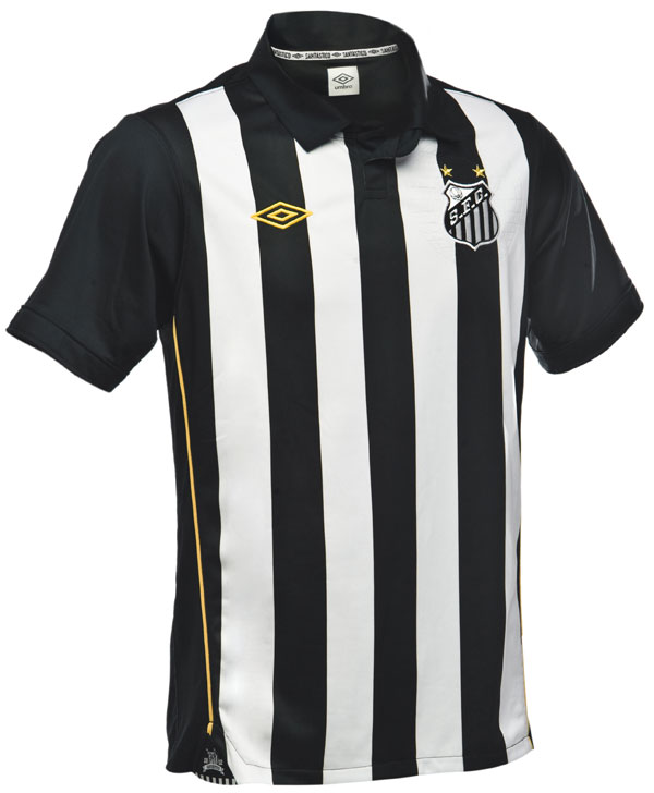 Santos FC - História de Glórias  Todos os patrocinadores do uniforme ... 9f1beb7e7442c