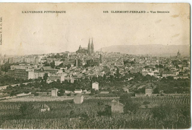 Clermont-Ferrand, vue de Montjuzet.