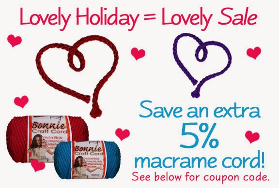 A LOVELY Macrame Sale - Pepperell Braiding Company