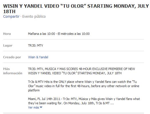 Wisin & Yandel – Tu Olor (Estreno)