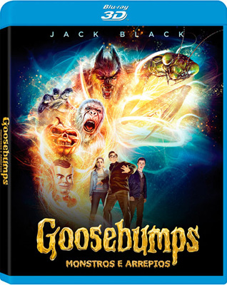 Filme Poster Goosebumps – Monstros e Arrepios BDRip XviD Dual Audio & RMVB Dublado