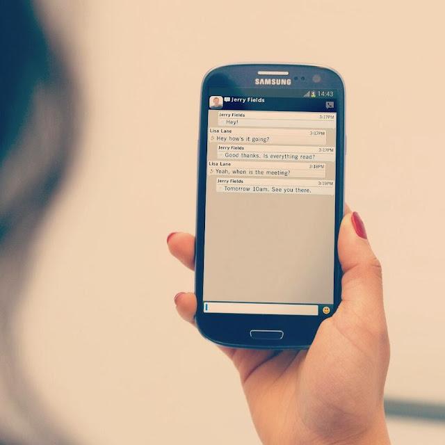 Merubah Tombol Send Menjadi Enter di BBM Android