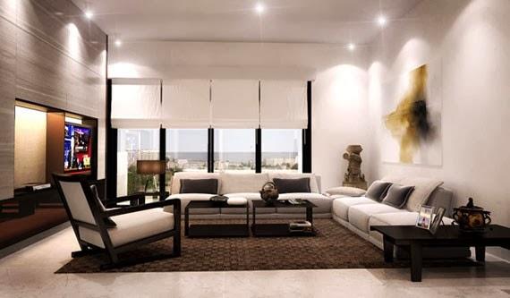 interior ruang tamu minimalis terbaru 2014