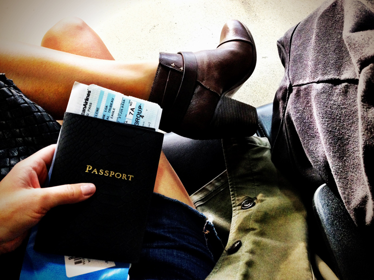 LGA YUL Traveling Passport Rag & Bone Harrow Boots
